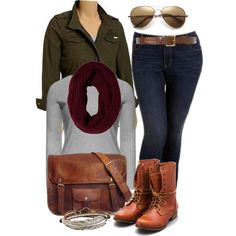Fall - Plus Size by alexawebb, via Polyvore