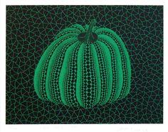 Yayoi Kusama Pumpkin (GY) screenprint 1996
