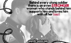 Behind Every Closed Door There Is Quotes, Quotations & Sayings 2019 Military Wife Quotes, Army Quotes, Military Love, Military Marriage, Girlfriend Quotes, Picture Quotes, Love Quotes, Inspirational Quotes, Soldier Quotes