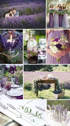 purple wedding inspiration board in 2019 Lavender Wedding Theme, Sage Wedding, Purple Wedding, Spring Wedding, Wedding Table, Diy Wedding, Wedding Flowers, Dream Wedding, Wedding Night