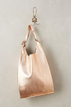 Slide View: 1: Reversible Leather Tote
