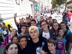 Selfie!     El Blackrock College (conocida como el French College) es una impresionante escuela en Dublín,  Irlanda  El barrio de Blackrock se encuentra en una zona residencial de Dublin situada a unos veinte minutos del centro y con una alta calidad de vida.    #WeLoveBS #inglés #idiomas #Irlanda #Ireland #Dublin
