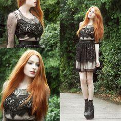 Goddiva Studded Collar, Alice By Temperley Dress Hire, Old Belt, Jeffrey Campbell Fredas