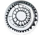 Filippa K plate - Burkina - Rörstrand Small Plates, Decorative Plates, Stig Lindberg, Swedish Style, Alvar Aalto, Ceramic Decor, Scandinavian Modern, Organic Shapes, Love Gifts