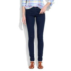Madewell - Legging Jeans in Chasm Wash