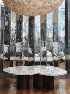 White concrete coffee table Concrete Coffee Table, Paris Flea Markets, White Concrete, Fleas, Contemporary Design, Antiques, Gallery, Vintage, Antiquities