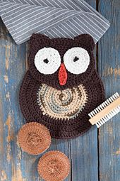 Ravelry: Soapy Owl Dishcloth pattern by Mary Beth Temple
