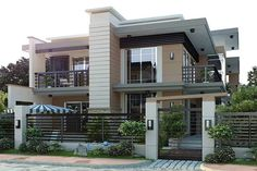 Brilliant Modern Home Design - Architecture.Most people like several home architectural styles. Modern House Plans, Modern House Design, House Front, My House, Facade House, Home Fashion, Modern Architecture, Amazing Architecture, Exterior Design