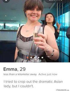 Funny Tinder profile