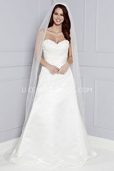 c873a1d6428c US$111.49-Captivating Michaelia Strapless Sweetheart Wedding Dress under  $200 #affordable #200 #