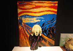 El artista Nathan Sawaya crea obras de arte con Lego