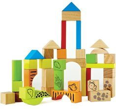 Baby Block  Toys - Pin it :-) Follow us .. CLICK IMAGE TWICE for our BEST PRICING ... SEE A LARGER SELECTION of  Baby block toys at  http://zbabybaby.com/category/baby-categories/baby-and-toddler-toys/baby-block-toys/ - gift ideas, baby , baby shower gift ideas  -  Hape Eco Animal Blocks, 38-Piece « zBabyBaby.com