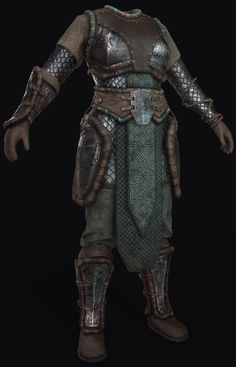 ArtStation - Female Viking Armor, Keriem Dijksma