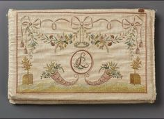 Pocketbook  French 1780-95  Acc# 43.1115