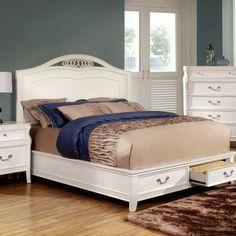 Furniture Of America,Elvas Eastern King Bed Collection - CM7684EK