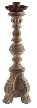 Aidan Gray Turin Candlestick - traditional - candles and candle holders - Candelabra