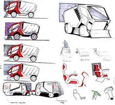 Sketches by Muzaffer Koçer at Coroflot.com