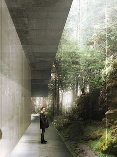 Image result for arch render plants light