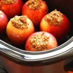 Crock-Pot Baked Apples - Skinny Chef