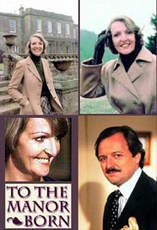 'To the Manor Born' ran from 1979 through starring Penelope Keith as the aristocratic Audrey fforbes-Hamilton, and Peter Bowles as nouvéau ríche Richard DeVére (a/k/a Bedrích Poloüvícka) British Tv Comedies, British Comedy, British Actors, American Actors, Penelope Keith, Shraddha Kapoor, Priyanka Chopra, Deepika Padukone, Comedy Tv Series