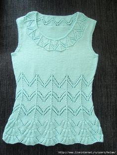 Summer Knitting, Crochet Top, Projects To Try, Sweaters For Women, Crochet Patterns, Pullover, Fashion, Templates, Sweater Vests