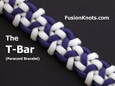 How to Make the T-Bar (Paracord) Bracelet by TIAT