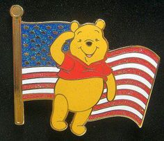 Pooh Happy 4th of July!