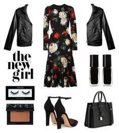 Untitled #636 by tenindvr on Polyvore featuring polyvore fashion style Dolce&Gabbana Gianvito Rossi Yves Saint Laurent NARS Cosmetics Inglot The New Black 3.1 Phillip Lim clothing