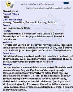 PLZEŇSKÝ KRAJ :: Béčko-Tc Personalized Items, Travel, Viajes, Traveling, Tourism, Outdoor Travel