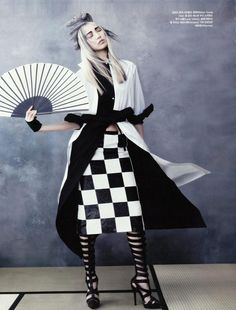 ASIAN MODELS BLOG: EDITORIAL: Soo Joo in Vogue Korea, June 2013
