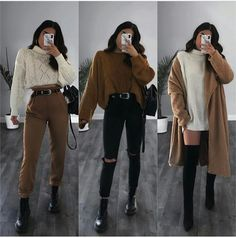 Source by outfits invierno Tomboy Outfits, Winter Fashion Outfits, Mode Outfits, Fall Winter Outfits, Girl Outfits, 6th Form Outfits, Summer Outfits, Teenager Mode, Teenager Outfits