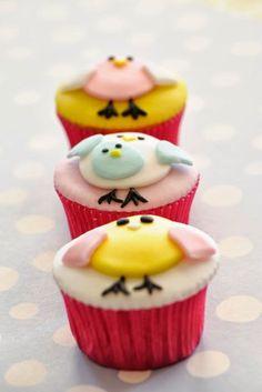 Cupcakes pollitos por Delicious Bakery Bcn