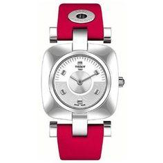 Tissot Odaci-T Red Ladies Watch T0203091603102