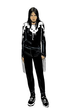 Some very old X-23 sketches I did before I started... | Your Nice New Outfit • the art of Phil Noto