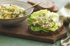 Dill & Caper Egg Salad Sandwich recipe
