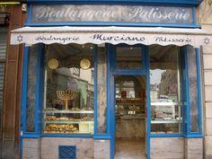 On night 4 of Hanukkah- I want to be here (Funky Jewish bakery in Montparnasse neighborhood, Paris)