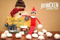 Snow Balls For Sale from Jen Mcken Photography