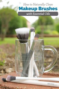 MOM Tip: How to Clean Makeup Brushes #247moms