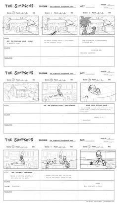 Storyboard Template  Camp Puppets    Storyboard