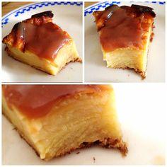 L'invisible aux pommes et son coulis de caramel beurre salé de mon amie Marine Cornut, un délice. La recette sur son blog http://marinecornut.net/2014/07/26/invisible-aux-pommes/
