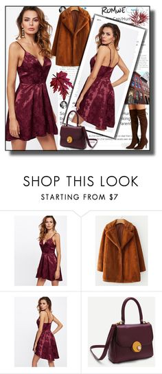"""""""// Romwe 10.//"""" by fahirade ❤ liked on Polyvore featuring Disney"""