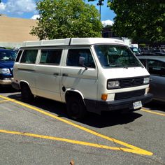 VW Vanagon GL spotted in North Vancouver.
