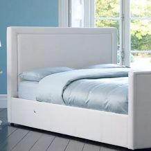 Montreal TV Bed - White
