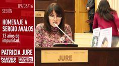 Sergio Ávalos // 13 años de impunidad // Homenaje Patricia Jure