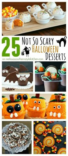 not so scary halloween desserts - Non Scary Halloween Decorations