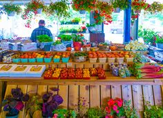 """""""No visitor to Quebec City should miss the Marche du Vieux-Port: Not only is the food local and scrumptiously fresh, but it's also extremely affordable since the market is used more by locals than tourists. Plus, it's a feast for the eyes, too!"""""""