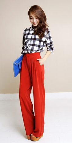 aliexpress.com/store/814284 : Buy Zz luxurious loose high waist wide leg pants trousers female zc07018 from Reliable Pants suppliers on Mr Ransom Fashion Store