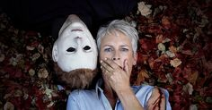 Halloween: Jamie Lee Curtis gets cozy with Michael Myers in promo image