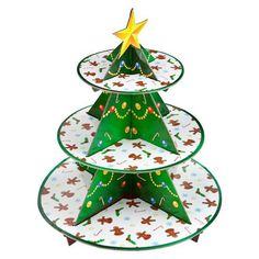 I'd love this Poundland Christmas Tree Cupcake Stand to sprout up on my Xmas table - preferably full of delicious cupcakes! Cupcake Tree, Christmas Tree Cupcakes, Cupcake Party, Xmas Tree, Christmas Decorations, Christmas Ornaments, Cupcake Ideas, Table Decorations, Cupcake Display Stand