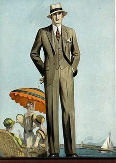 1928 men's fashion